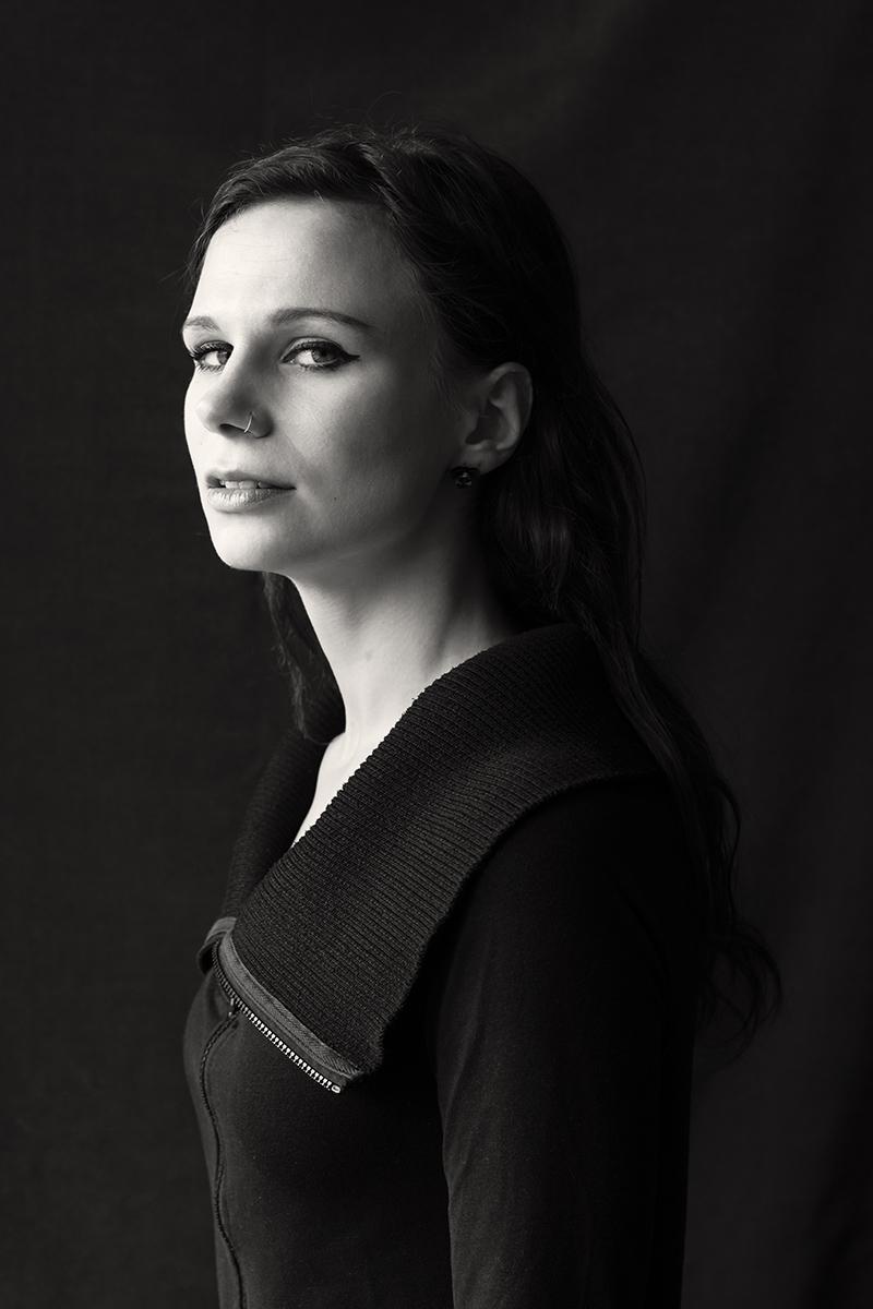 Porträt einer Frau, Fotografin Bremen