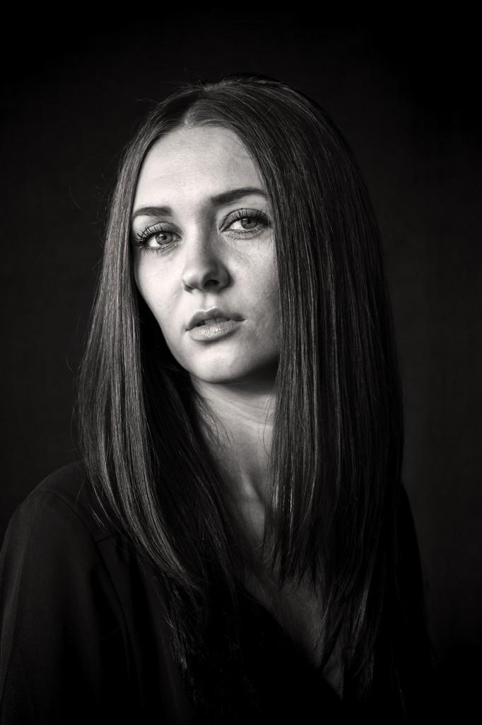 Porträt von Rita, fotografiert von Astrid Schulz, Bremen.